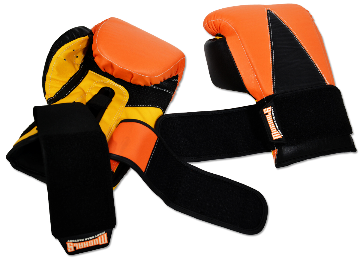 Training Safety Strap Boxing Bag Gloves